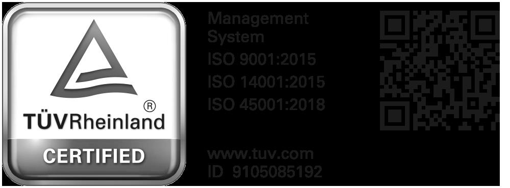 Certificazione 9001 - 14001 - 45001